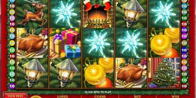 Deck the halls slots game