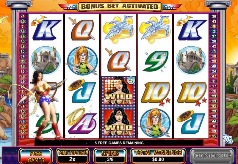Wonder Woman Slots Game